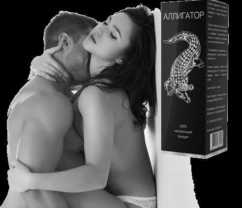 Капли Аллигатор для усиления потенции мужчины