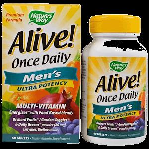 Витамины для усиления потенции мужчины