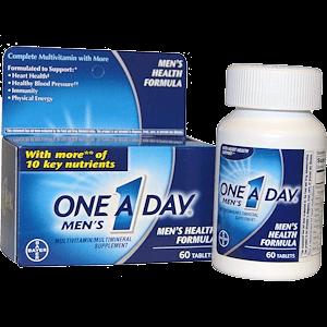 One-A-Day для здоровья мужчины, усилят потенцию
