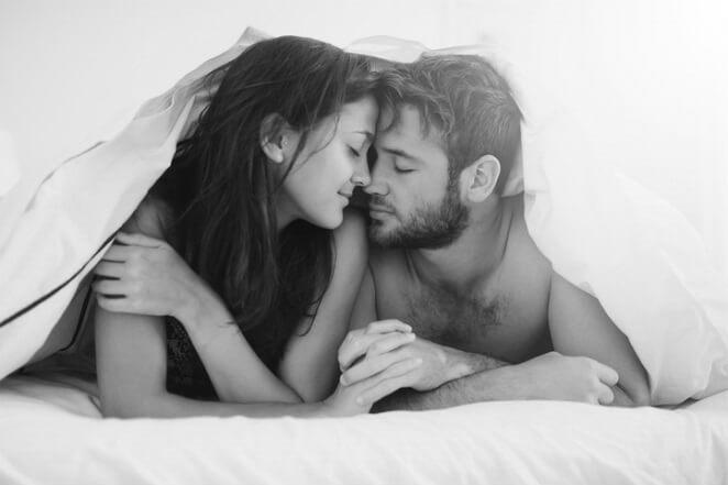 Мужчина и женщина после хорошего секса