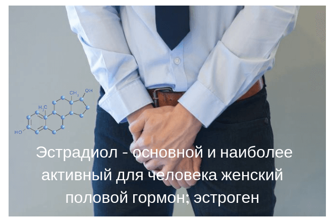 Повышенный и пониженный уровеь эстрадиола у мужчины причины и симптомы