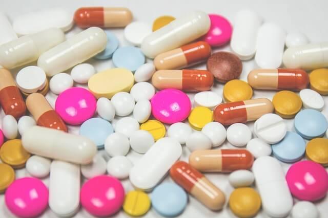 Таблетки разного фармакологического воздействия