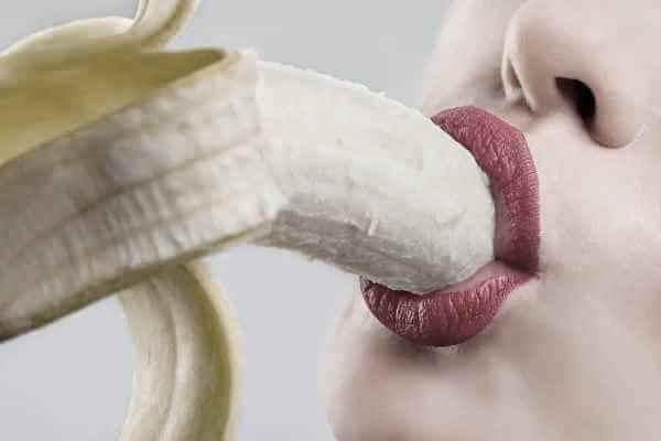Обхват банана губками