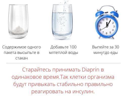 Инструкция применения Diaprin