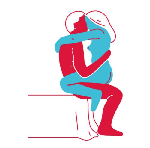 Секс на краю ванны или на стуле