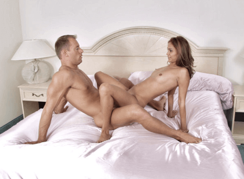 Активный секс лицом к лицу
